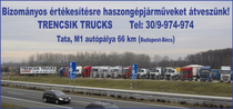 Stock site Trencsik Kft