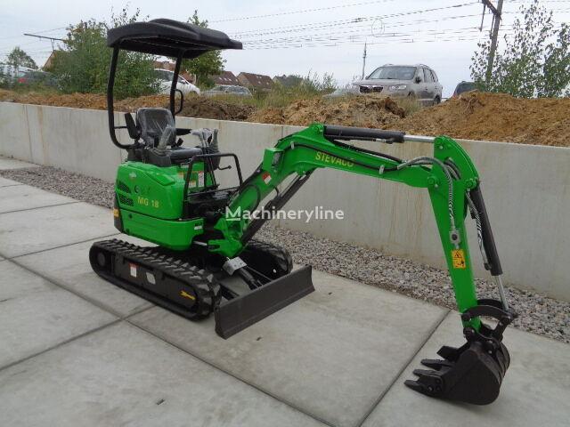 new MG18U mini excavator