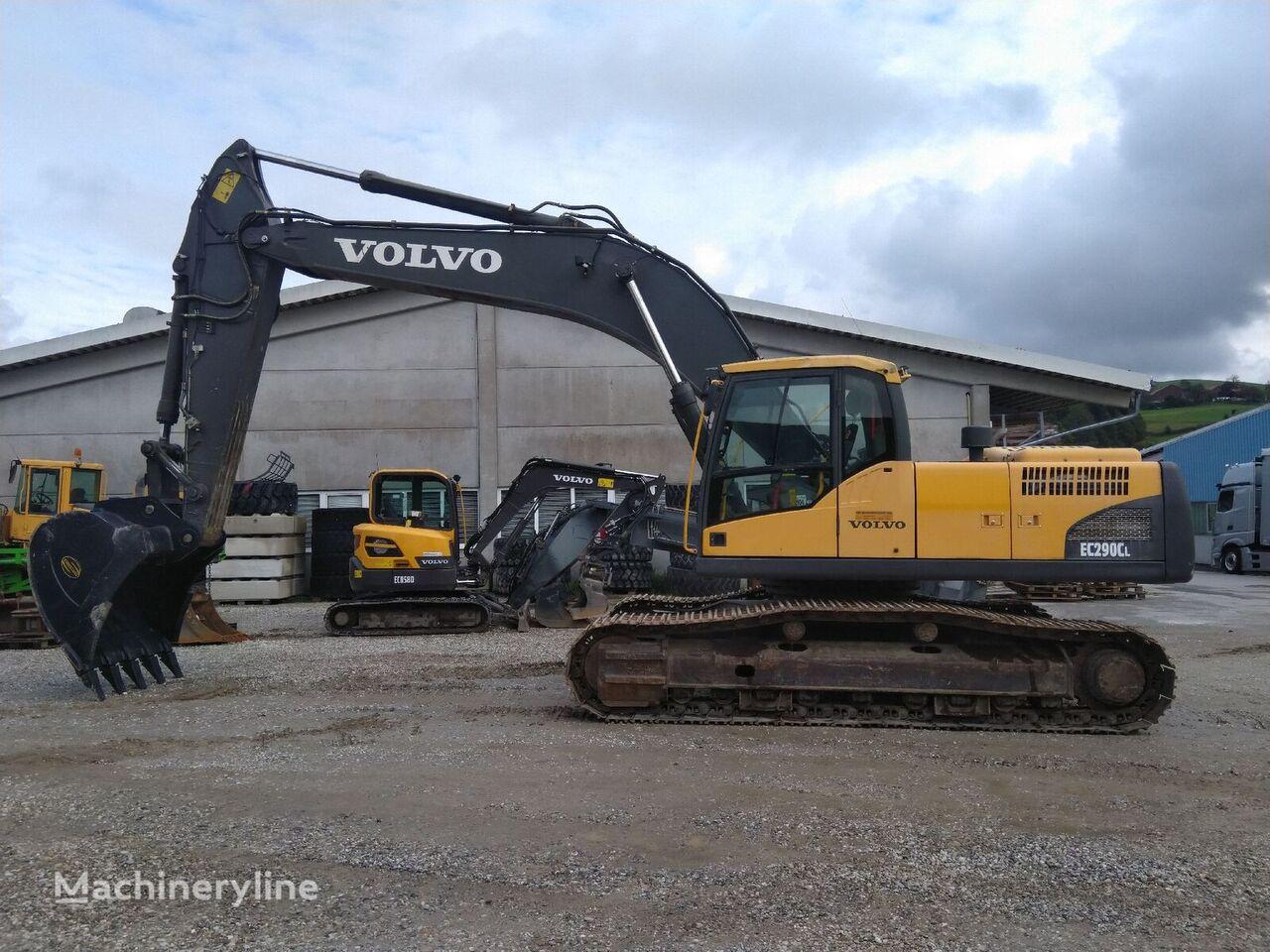 VOLVO EC290CL tracked excavator