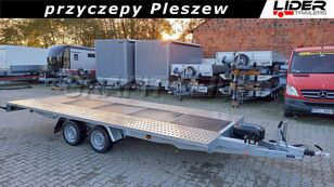 new NIEWIADOW BR-076 przyczepa 500x210cm, laweta płaska, wypełnienie sklejkowe car transporter trailer