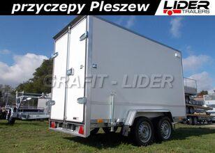 new TEMARED TM-183 przyczepa 300x150x180cm, Box 3015/2, kontener, fo closed box trailer