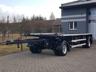 ZASŁAW D-659 DO KONTENERÓW HAKOWCA 2 OSIE BLIŹNIAKI RESOR HUFFERMANN  container chassis trailer