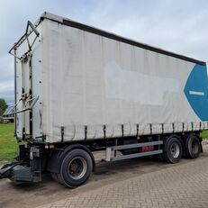 SAMRO 3 AXLES CURTAINSIDES TRAILER 24.000 KG TOTAL WEIGHT HYDRAULIC TO curtain side trailer