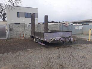 ZRUST Zrůst ZPT-9, tandem, nájezdy equipment trailer