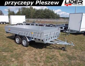 new RYDWAN RD-015 przyczepa 350x195x35cm, Euro C750 / H5, lekka, niehamowan flatbed trailer