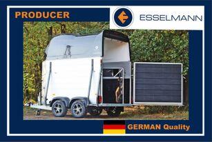 new Esselmann Cavallo Due przyczepa do przewozu 2 koni livestock trailer