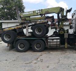 DOLL Przyczepa + Żuraw Loglift 241, Okazja cenowa timber trailer