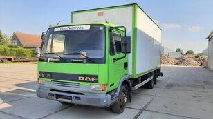 DAF 45.130 Ti 6 Cylinders Euro 2 Spring-Spring box truck