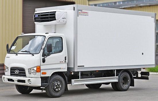 new HYUNDAI HD78 box truck