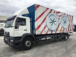 MAN 18.285 LLC box truck