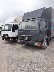 MAN 8.163 / Niski przebieg / Dobry stan box truck