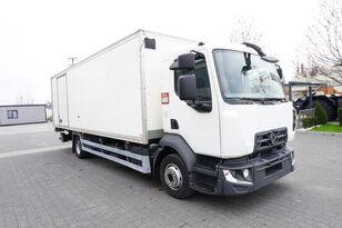 RENAULT D12 , E6 , 4x2 , Box 18 EPAL side door  , tail lift Dhollandia , box truck