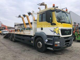 MAN TGS 26.360 6x2 Járműszállító Csörlővel és Rámpával car transporter