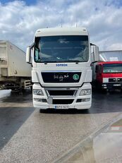 MAN TGX 24.440 curtainsider truck + curtain side trailer