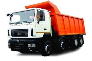new MAZ 6516E8 dump truck