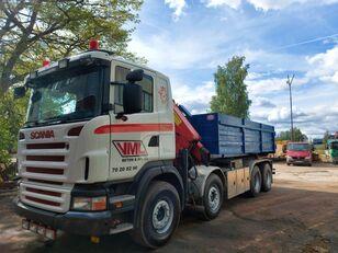 SCANIA R480 HMF1820 Radio control dump truck