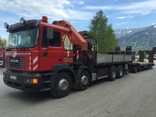 MAN VFL 32.464 flatbed truck