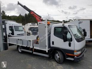 MITSUBISHI Canter flatbed truck