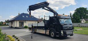 VOLVO FM 11 330 CRAN PALFINGER PK 18002 EH flatbed truck