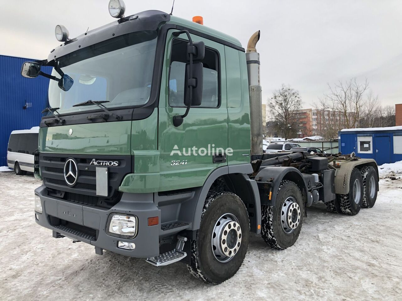 MERCEDES-BENZ Actros 3241 hook lift truck