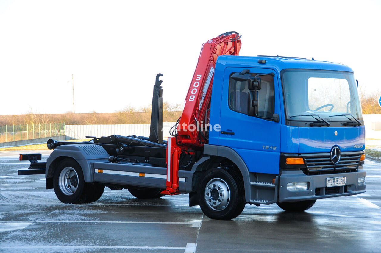 MERCEDES-BENZ Atego 1218 hook lift truck