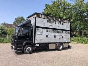 MERCEDES-BENZ Axor Pezzaioli 1/2 stock Veewagen Hefdak livestock truck