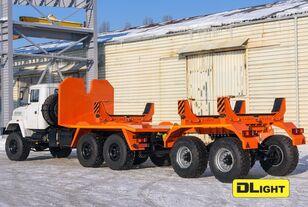 new KRAZ 6322-05 pipe truck
