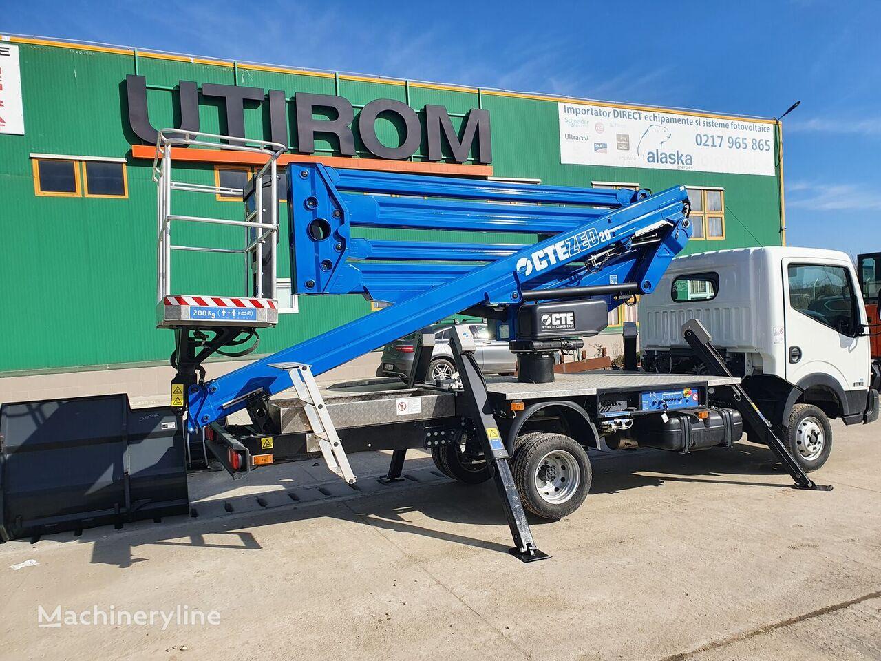 new NISSAN Cabstar 35.13 platform truck