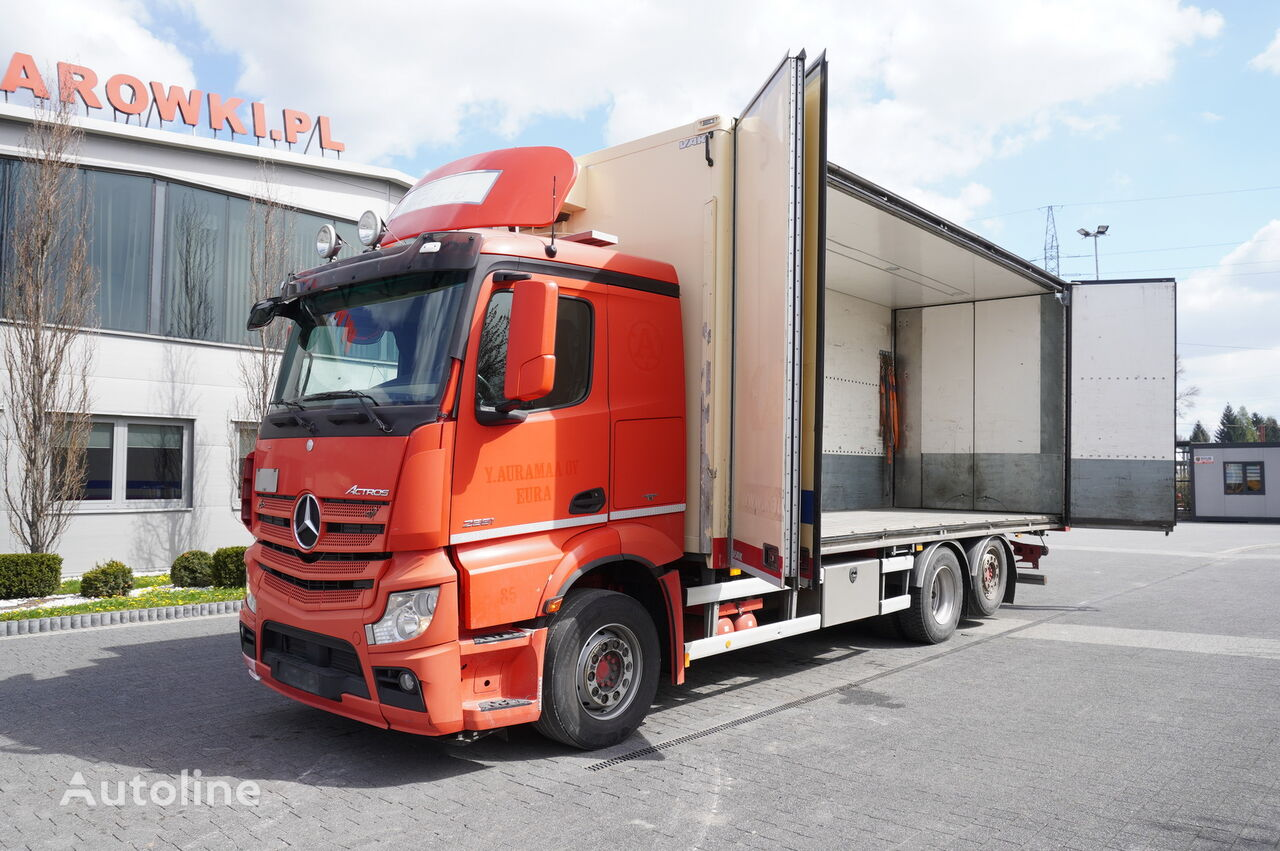 MERCEDES-BENZ Actros 2551 , E5 , 6x2 , 18 EPAL , height 3M , full side opening refrigerated truck