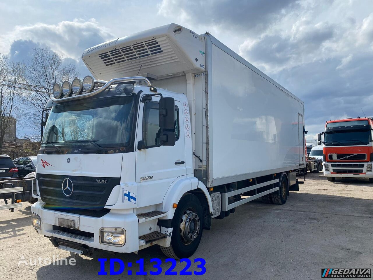 MERCEDES-BENZ Axor 1828 Manual refrigerated truck