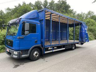 MAN TGL 12.220 BL EEV , 7,20m , 6-Gänge manuall, Klima, TOP tilt truck