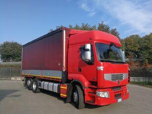 RENAULT PREMIUM 450.260 6X2 EURO 5, TELONATO 7 METRI + GANCIO TRAINO tilt truck