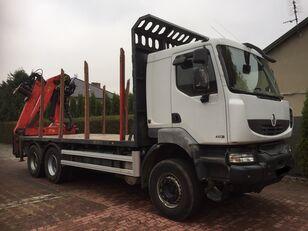 RENAULT Kerax 450 DXI timber truck